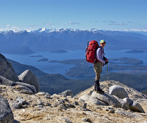 Small group guided hiking in Fiordland
